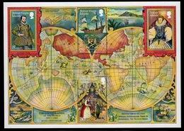 British Virgin Islands 1980 Queen Elizabeth Mini Sheet Celebrating Francis Drake. - British Virgin Islands
