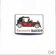 Pin's Automobile - Garage / Carrosserie Barsot à La Chapelle-St-Luc (10). Estampillé Bonnafour. EGF. T670-04 - Badges