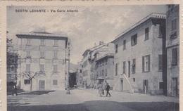 SESTRI LEVANTE  VIA CARLO ALBERTO  AUTENTICA 100% - Genova (Genoa)
