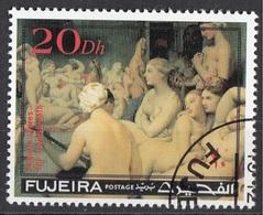 "Fujeira 1971 ""Il Bagno Turco"" Quadro Dipinto Da J.A.D. Ingres Preoblit. Neoclassicismo Painting Tableau - Fujeira"