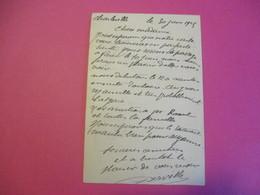Portrait D'Artiste/ Les DERVILLE/ Comédiens/Parodistes à Transformations/Autographe/1925  CMH43 - Autres