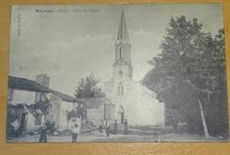 Cpa - 81 - Tarn - Rayssac - Place De L'église - France
