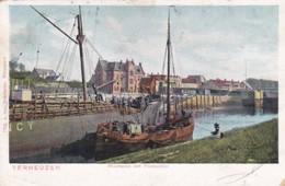 2606168Terneuzen, Westhaven Met Postkantoor Rond 1900 (zie Hoeken) - Terneuzen