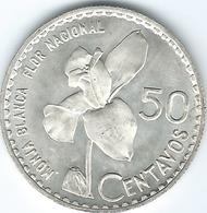 Guatemala - 1963 - 50 Centavos - KM264 - Guatemala