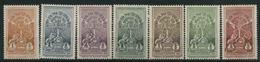 1926 Etiopia, Incoronazione Imperatore Hailè Selassiè, Serie Completa Nuova (**) - Etiopia
