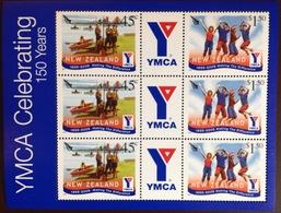 New Zealand 2005 YMCA Anniversary Minisheet MNH - New Zealand
