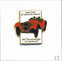 """Pin's Rallye Oldies / 2è Tour Du Cœur De France """"Grands-mères Automobiles"""" Juillet 92. Est. Pichard. Zamac. T670-12 - Badges"""