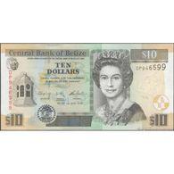 TWN - BELIZE 68e - 10 Dollars 1.5.2016 Prefix DP UNC - Belize