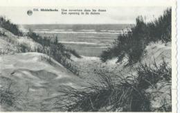 Middelkerke - Une Ouverture Dans Les Dunes - Een Opening In De Duinen - Albert 516 - Middelkerke