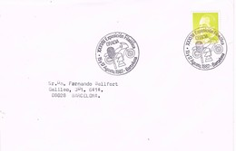33070. Carta BARCELONA 1987. Exposicion Filatelica GRACIA - 1931-Hoy: 2ª República - ... Juan Carlos I