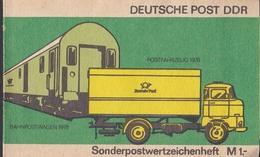 Wib_ DDR - Markenheftchen Mi.Nr. SMHD 9 Ca - Postfrisch MNH - Blocchi