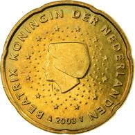 Pays-Bas, 20 Euro Cent, 2003, TTB, Laiton, KM:238 - Pays-Bas
