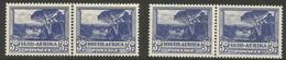South Africa - 1951 Groote Schuur 3d  Bilingual Pairs MNH **    SG 117a And 117b - Unused Stamps