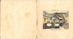 BOEUF A LA MODE Rue De Valois ROUEN Années 20 -carte De Prix Des Menus + Projet De Menu 1931-CHEZ MARTINET -lithographie - Menus