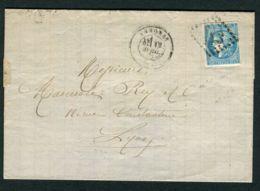 FRANCE ( POSTE ) : Y&T N° 44A/45 OU 46 ? , TIMBRES OBLITERES . - Marcophilie (Lettres)