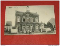 HANNUT  -  L' Hôtel De Ville  -  1909   - - Hannut