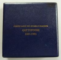 Centenaire Des établissements Gattefosse - Professionnels / De Société