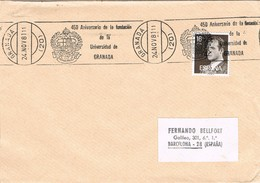 33076. Carta GRANADA 1981. Rodillo Especial Fundacion Universidad De Granada - 1931-Hoy: 2ª República - ... Juan Carlos I