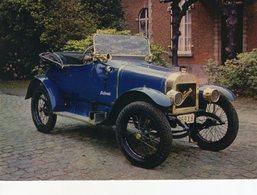 Ponette Type R 8hp - 1920  -  Publicité Trophirès   -  Carte Postale - Passenger Cars