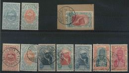 1909 Etiopia, Armoiries Au Mènelik II° Francobolli Nuovi E Usati - Etiopia