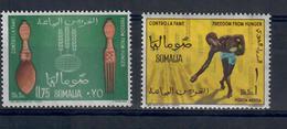 SOMALIA 1963 - ANNIVERSARIO INDIPENDENZA - PRESIDENTE  - MNH ** - Somalia (1960-...)