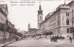 CARTOLINA - POSTCARD - ROMANIA - CLUJ - CALEA VICTORIEI - VIAGGIATA - Romania