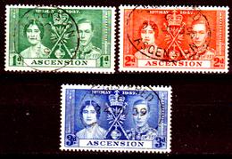 Ascension-021 - Emissione 1937 (o) Senza Difetti Occulti. - Ascensione