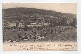 - CPA YPRES (Belgique) - Ecole D'équitation 1901 - Le Bivac (belle Animation) - Edition Nels N° 5 - - Ieper