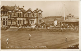 PC08241 The 18th Green. Old Course. St. Andrews. Valentine. No B.3381. RP. 1955 - Postkaarten