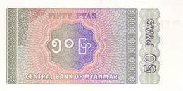 50 Pyas Burma UNC - Myanmar