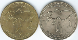 Guatemala - Quetzal - 2006 (KM284 - Non-magnetic) & 2013 (magnetic) - Guatemala