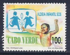 Cape Verde, Scott # 756 Used Child, 2000 - Cape Verde