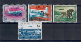SOMALIA 1964 - AEREI E ANIMALI  - MNH ** - Somalia (1960-...)
