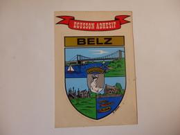 Autocollant De Belz (56). - Autocollants