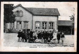 45, Arrabloy, L'ecole - Autres Communes