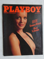 OHM Playboy édition Française Novembre 1980 Romy Schneider Playmate Jeana Tomasino Photos Femmes Nues - Erotic (...-1960)