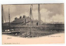 Boom   La Fabrique De Zinc 1903 - Boom