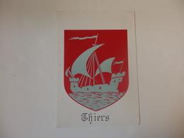 Autocollant De Thiers (63). - Stickers