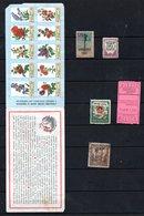 Carnet Antituberucleux  Avec Vignettes - Commemorative Labels