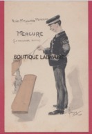 ILLUSTRATEUR---E-KORMER---Petite Mytologie Moderne--Mercure---Le Messager - Illustrators & Photographers