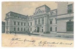 RO 08 - 15723 BUCURESTI, Curtea De Conturi, Romania - Old Postcard - Used - 1900 - Romania