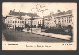 Brussel / Bruxelles - Place Des Martyrs - A L'Innovation Publicité - Dos Simple - Places, Squares