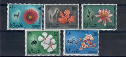 SOMALIA 1965 - FLORA E FAUNA  - MNH ** - Somalia (1960-...)