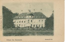 PC08944 Hilsen Fra Danmark. Bernstorff Slot. B. M. And Co. Eneret. No 95 - Ansichtskarten