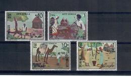 SOMALIA 1966 - ARTE SOMALA - ANIMALI- MNH ** - Somalia (1960-...)