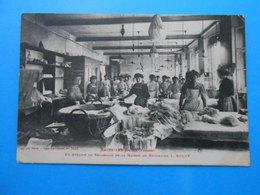 88 ) Bains-les-bains N° 7625 - Attelier De Repassage De La Maison De Broderie  L.ROUFF : Année 1915 - EDIT : Weick - Bains Les Bains