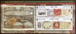 Isle Of Man 2011 Postal History Minisheet MNH - Man (Insel)