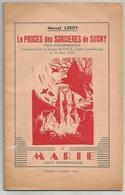 BOUILLON - Marcel LEROY édition Originale  De 1952  Procès Des Sorcières De SUGNY .35 Pages - Livres, BD, Revues