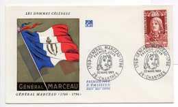 - FDC CHARTRES 22.3.1969 - GENERAL MARCEAU - - Révolution Française