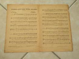 Femmes Que Vous êtes Jolies (Musique P. Codini)(Poésie De E. Favart) Partition 1912 - Scores & Partitions
